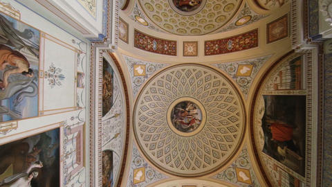 The magnificent ceiling Hermitage Live Action
