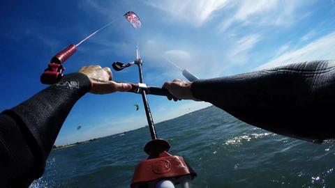Ralph Hirner's Kitesurfing POV Footage