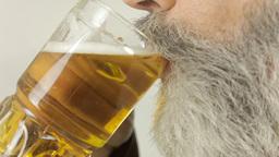 Friar beer side macro gluttony Footage