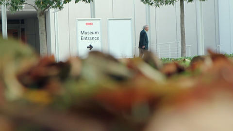 Museum Entrance Footage