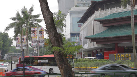 Tang plaza on orchard road Footage