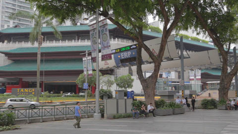 pan - tang place to orchard road Footage