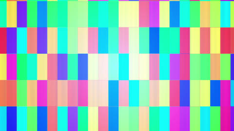 Broadcast Twinkling Hi-Tech Bars, Multi Color, Abstract, HD Animation