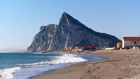 Gibraltar stock footage