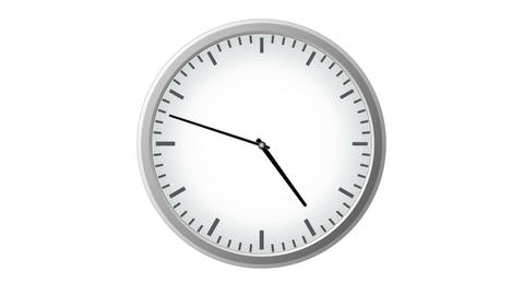 Clock countdown Time Lapse Animation