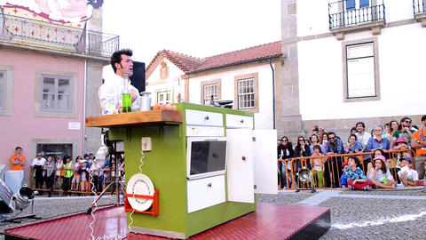 The Yelling Kitchen Prince performed by Bram Graafland from Holand Footage