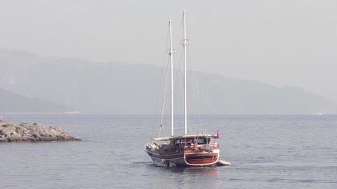 Blue Voyage stock footage