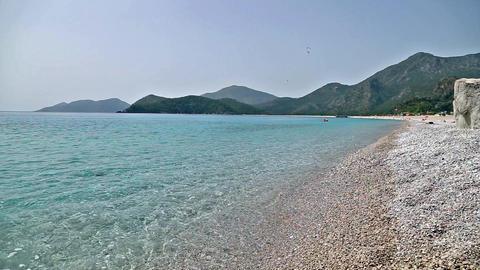 Fethiye , Oludeniz Belcekiz Beach Footage