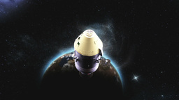 Apollo spacecraft Stock Video Footage