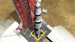 Apollo spacecraft Stock Video Footage