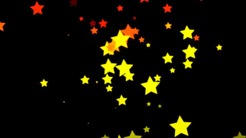 Loopable Falling Stars Animation Stock Video Footage