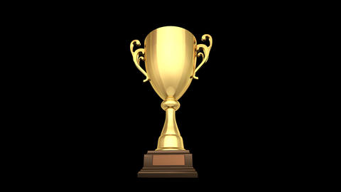 Trophy Cup C HD Animation