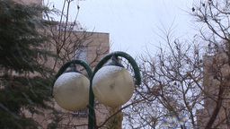 Jerusalem snow 2012 7 Footage