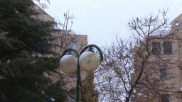 Jerusalem snow 2012 7 Stock Video Footage