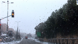 Jerusalem snow 2012 13 Footage