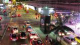 City Traffic lights time lapse Footage