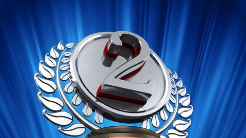 Medal Prize Trophy Db6 HD CG動画