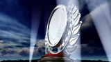 Medal Prize Trophy E3sky HD stock footage