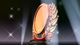 Medal Prize Trophy E5Flash HD stock footage