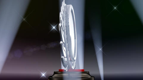 Medal Prize Trophy E5Flash HD Stock Video Footage