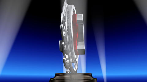 Medal Prize Trophy Eb2 HD Stock Video Footage