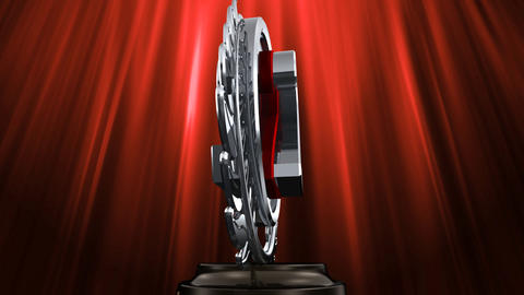 Medal Prize Trophy Eb6 HD Stock Video Footage