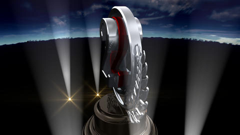 Medal Prize Trophy Fb3sky HD Animation