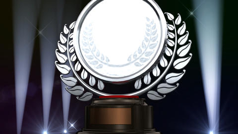 Medal Prize Trophy G3 HD Stock Video Footage