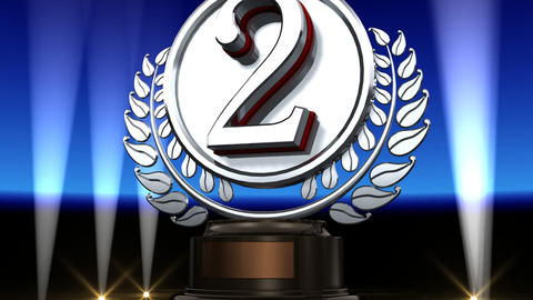 Medal Prize Trophy Gb2 HD Stock Video Footage