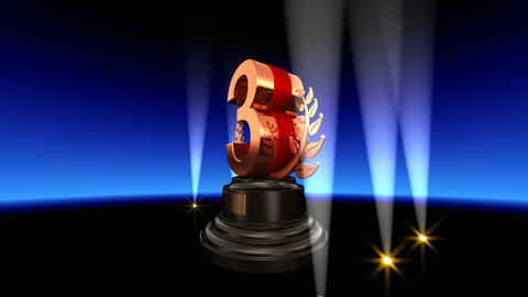Number Trophy Prize B2 HD CG動画