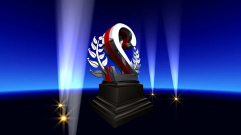 Number Trophy Prize Bb2 HD Animation