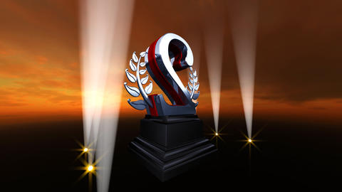 Number Trophy Prize Bb4sky HD Animation