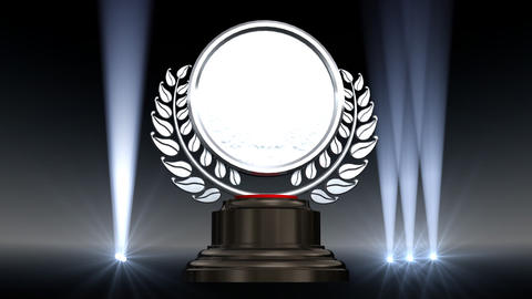 Medal Prize Trophy A2 HD Stock Video Footage