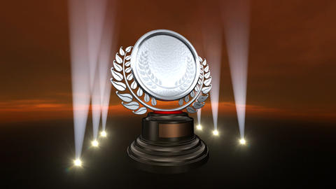 Medal Prize Trophy B4sky HD Animation
