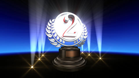 Medal Prize Trophy Bb2 HD Stock Video Footage