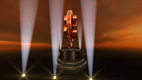 Medal Prize Trophy Bb4sky HD Stock Video Footage