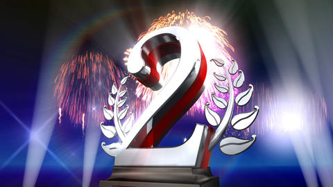 Number Trophy Prize Eb5Flash HD Animation