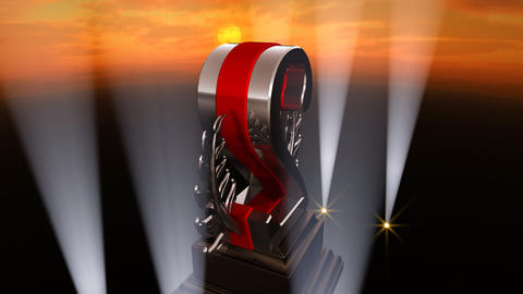 Number Trophy Prize Fb4sky HD Animation