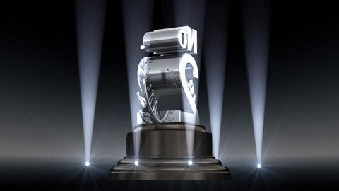 Number Trophy Prize No A2 HD Stock Video Footage
