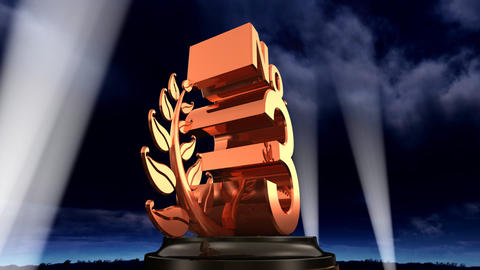 Number Trophy Prize No E3sky HD Stock Video Footage