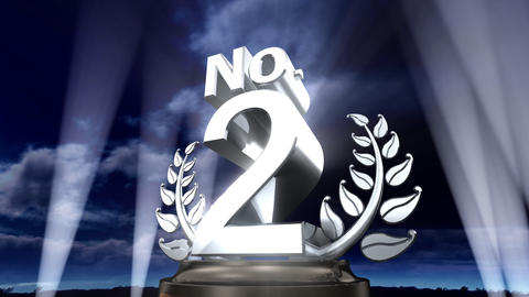 Number Trophy Prize No E3sky HD Animation