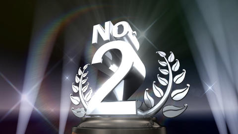 Number Trophy Prize No E5Flash HD Animation