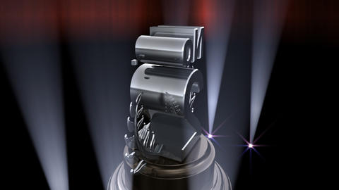 Number Trophy Prize No F6 HD Animation