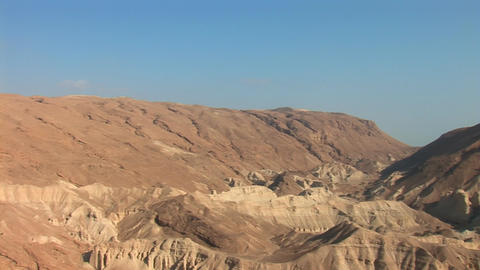 Israel desert 2 Stock Video Footage