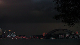 Australia Lightning Stock Video Footage