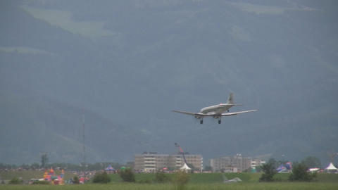 Douglas DC 2 Stock Video Footage
