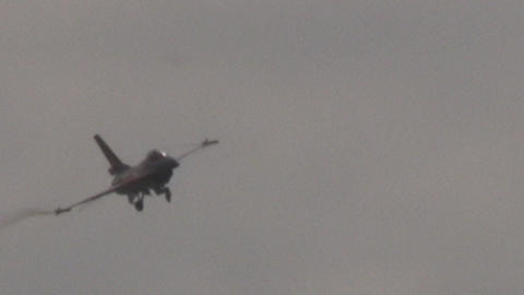 F 16 Fighting Falcon Stock Video Footage
