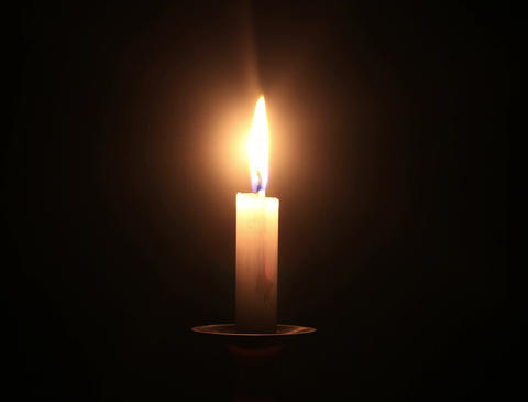 4K Candle Timelapse 01 Stock Video Footage