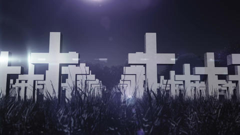 Cemetery 03 Animation