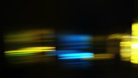 Colorful LIghts and Streaks 03 Stock Video Footage